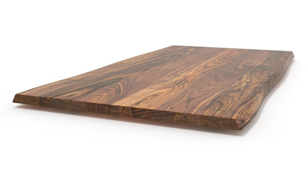 Tischplatte massivholz baumkante nach ma gefertigt for Tischplatte massivholz