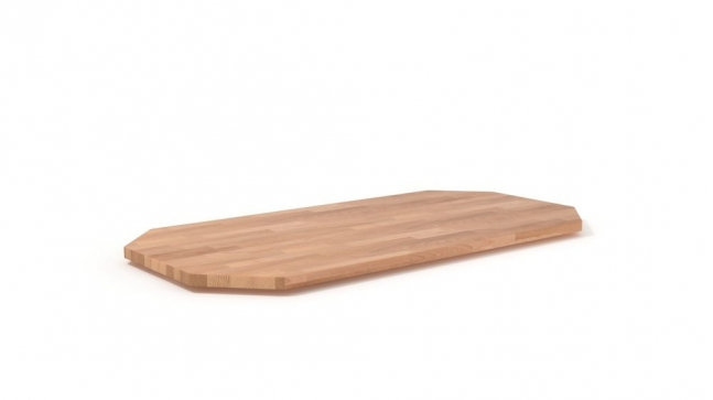 Massivholz Tischplate nach Maß - Bogra