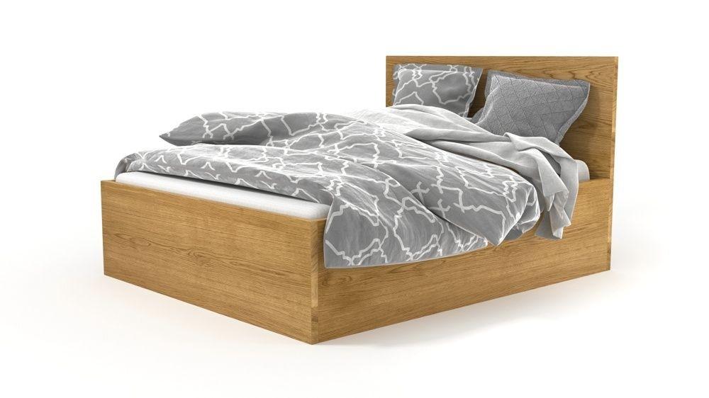 massivholzbett im boxspringbett design bett nach ma bisera. Black Bedroom Furniture Sets. Home Design Ideas